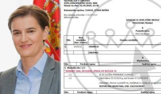 Riječko odvjetništvo oduzelo premijerki Srbije djedovinu na Krku