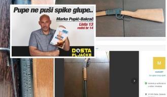 Privedeni zadarski političar Pupić-Bakrač prije pet dana prodavao arsenal oružja preko Njuškala