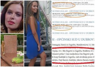 Kći Ene Begović ima čak 17 sudskih postupaka zbog maminog nasljedstva