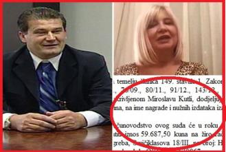 Sutkinja koja je sudila Sanaderu i Todoriću dala Kutli 59.687 kn za obranu