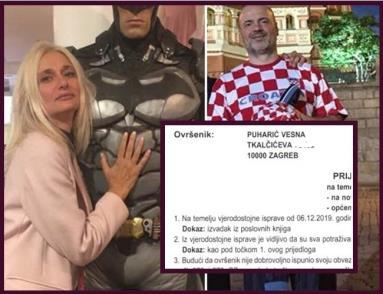 Bivšu suprugu milijardera Jušte Puharića traži zagrebački sud