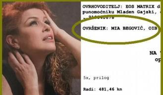 Doznajte zašto je ovršena Mia Begović