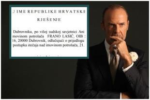 Frano Lasić za dlaku izbjegao osobni bankrot u Dubrovniku