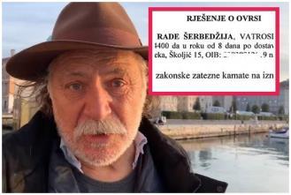 Otkrivamo zašto je ovršen Rade Šerbedžija