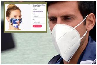 Novak Đoković profitira na korona maskama i egzistira kao tvornica novca