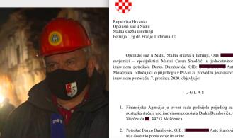 Sin gradonačelnika Petrinje ulazi u 2021. sa sudskim rješenjem osobnog bankrota