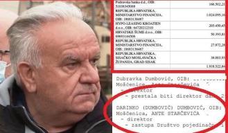 Kako su obiteljske tvrtke Darinka Dumbovića izigrale vjerovnike za 3 milijuna kuna