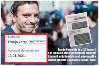 Glavni akter afere SMS Franjo Varga pokrenuo ovrhu protiv bivše zbog djeteta