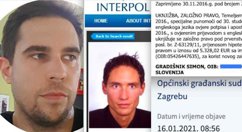 Brat lihvara s Interpolove tjeralice osuđen zbog ilegalnih kredita uknjižio kuću u ZG