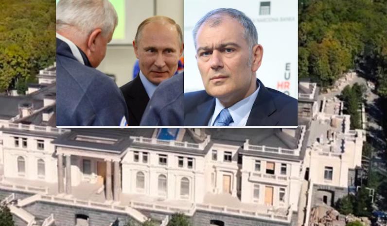 Punac Emila Tedeschija zakupio Putinov dvorac iz filma Alekseja Navaljnog