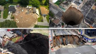 Gigantske rupe diljem svijeta progutale su kuće, aute i ljude: Na Banovini vrijedi Murphyjev zakon