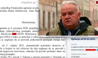 Doznajte hoće li sin Darinka Dumbovića otići u osobni bankrot