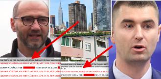 Joško Klisović u vlasnički upisao adresu u New Yorku a Davor Filipović živi u tatinom stanu