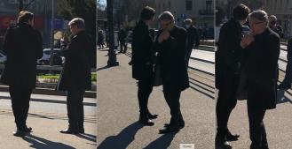 Ćiri Blaževiću ruke drhtale nakon Bandićevog pokopa pa jedva zapalio cigaretu