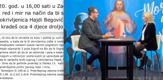 Liderica Hoda za život oslobođena optužbe da je tukla drugu ženu i vikala 'KURVO, OTIMAŠ OCA 4 DJECE'