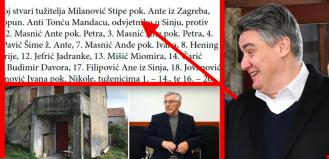 Zoran Milanović klon svoga oca Stipe koji je tužio cijelu obitelj dok mu je sin bio premijer