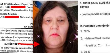 Nastavnica hrvatskog OŽENILA BANKE za336.469 kn peglanjem kartica pa nadigrala i A1 Hrvatska