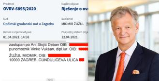 Doznajte zašto šefica Zagrebačkog holdinga ovršava nekad svemoćnog Miomira Žužula