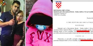 Uhićeni otac djevojčice primao manje od 500 kn mjesečno pa sud odbio bankrot nad njim