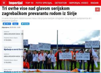 REAGIRANJE: Abdulmounem Haoui nije serijski zagrebački prevarant