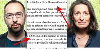 Urša Raukar nagodila se s Gradom Zagrebom i dobila 1,5 milijuna kuna