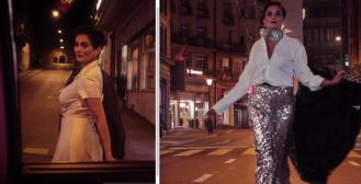 Leonarda Boban kao fatalna zavodnica u noćnom pohodu ulicama Švicarske