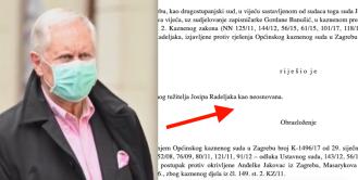 Josip Radeljak doživio sudski debaklu kaznenom sporu koji je pokrenuo