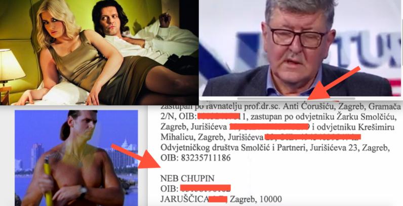 Ravnatelj KBC-a Ante Ćorušić traži ovrhu nad partnerom Čombeta  iz serije Lud, zbunjen, normalan