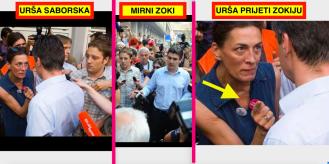 U Sabor stiže bogata Urša Raukar koja je prstom ušutkala Milanovića