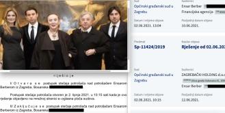 I drugi sin Mersada Berbera spas potražio u bankrotu iako živi na visokoj nozi u Zagrebu