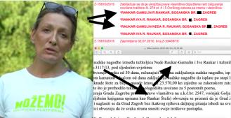 Urša Raukar-Gamulin u zemljišnim knjigama bila je upisana kao Neda Rankar