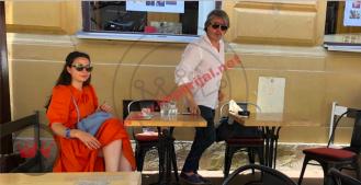 Dragan Bjelogrlić skočio da ga ne snimimo sa zgodnom damom u središtu Zagreba