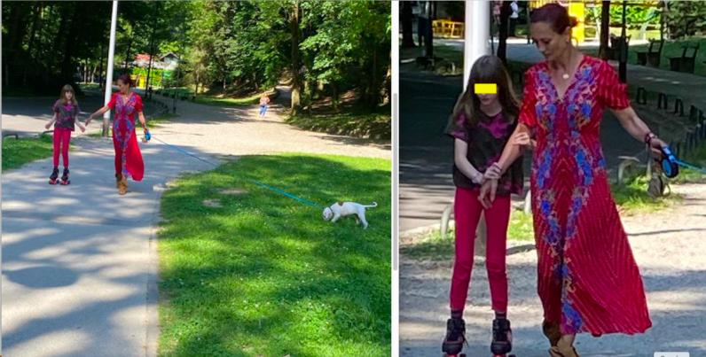 Leonarda Boban u šetnji s Ružom održala lekciju kako se nositi sa stresom