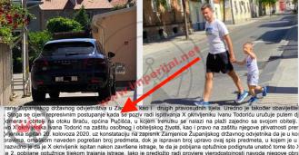 Todorićev sin žalio se sudu što ga je policija s pozivom zaskočila na bračkoj plaži