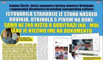 Najmoćnija HR direktorica i kuma supruge ministra Ćorića prijavljena zbog smeća