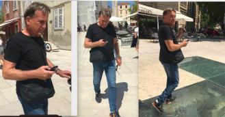 Božidar Kalmeta postao ovisan o mobitelu, prijeti mu 'palcitis'