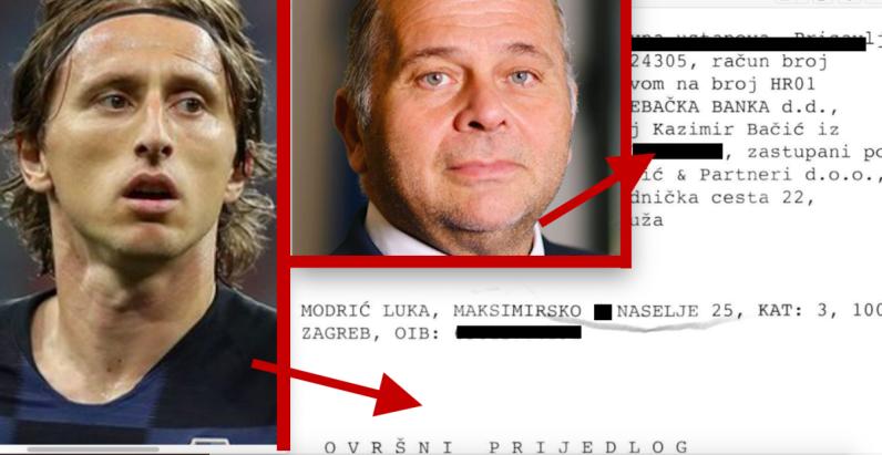 Ravnatelj HRT-a Kazimir Bačić prije uhićenja ovršio Luku Modrića