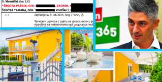 Uhićeni Patrik Šegota luksuzne apartmane na Krku prepisao je na sestru 2016.