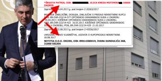 Uhićeni Patrik Šegota luksuzne kvadrata u Zagrebu vlasnički prenio na sestrinu tvrtku