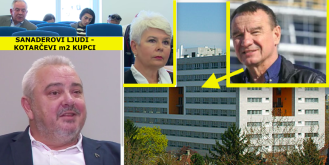 Uhićeni Zdenko Kotarac prodao je luksuzne stanove u Zagrebu Sanaderovim ljudima i polubratu Jadranke Kosor