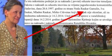Urša Raukar sakrila u imovinskoj arheološki park u Ivancu koji traži denacionalizacijom