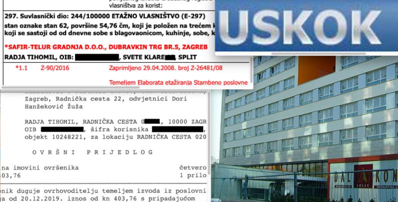 Uskokov svjedok pred ovrhom zbog ZG stana koji je kupio od uhićenog Kotarca