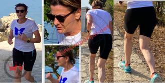 Šefica Podravke Martina Dalić zastenjala na šumskoj stazi u Punta Skali