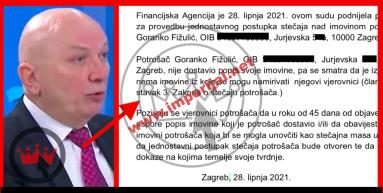 Fina tražila osobni bankrot bivšeg hrvatskog ministra, sudu nije dostavio popis imovine pa pozvani vjerovnici