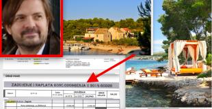 Milan Popović plaća 4.000 kn koncesiju za plažu na Paklinskim otocima na Hvaru