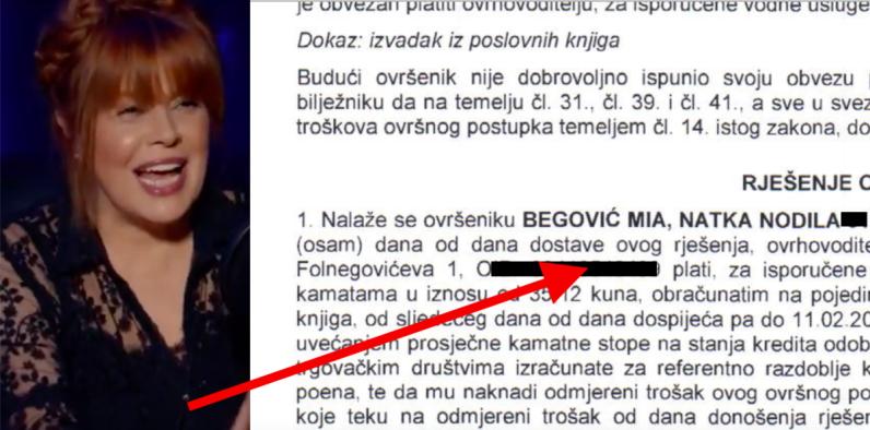 Miji Begović godišnji odmor pokvarila ovrha