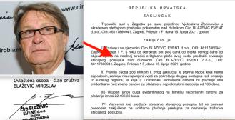 Tvrtka Miroslava Ćire Blaževića zbog dugova i blokade ide u stečaj