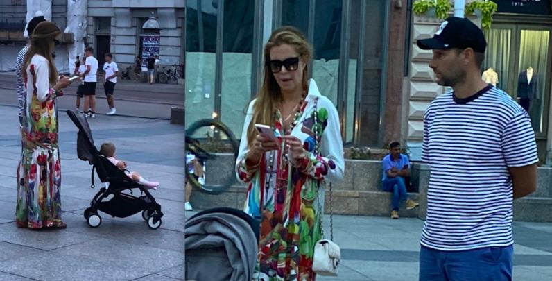 Todorićeva snaha na Jelačić placu stalno zurila u mobitel, prestala kad je Ivanu, gazdi Good Fooda, prekipjelo