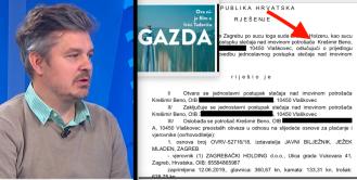 Nakon sudjelovanja u filmu Gazda Darija Juričana završio u osobnom bankrotu