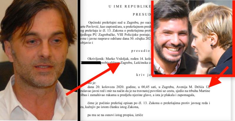 Osuđen Vrdoljakov sin, bivšoj curi ex-muža Ive Majoli sjedio na trbuhu u Držićevoj, zamahivao iznad glave, a ona zapomagala